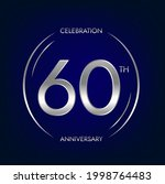 60th anniversary. sixty years...   Shutterstock .eps vector #1998764483