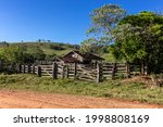 Old Cattle Wooden Stable...
