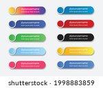 social media lower third set... | Shutterstock .eps vector #1998883859