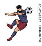 soccer sport player avatar... | Shutterstock .eps vector #1998910403