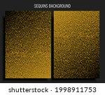 background template made golden ...   Shutterstock .eps vector #1998911753