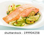 Gourmet Oven Baked Pink Salmon...