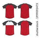 jersey uniform sports template...   Shutterstock .eps vector #1999092473