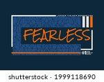 fearless  modern motivational... | Shutterstock .eps vector #1999118690