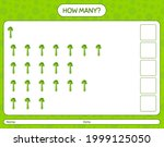 how many counting game with...   Shutterstock .eps vector #1999125050