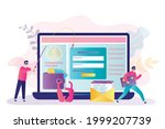 thieves steal users personal... | Shutterstock .eps vector #1999207739
