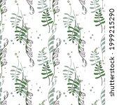 seamless vector pattern of... | Shutterstock .eps vector #1999215290