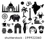 icons of india | Shutterstock .eps vector #199922360