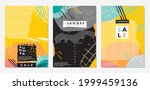 summer sales banner design set... | Shutterstock .eps vector #1999459136