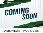 coming soon word concept vector ...