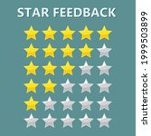 star rating. feedback is an...   Shutterstock .eps vector #1999503899