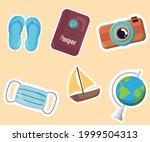 equipment for traveling or...   Shutterstock .eps vector #1999504313
