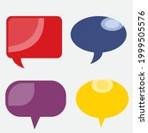 comment cloud box  or...   Shutterstock .eps vector #1999505576
