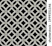 vector seamless pattern. modern ... | Shutterstock .eps vector #1999551146