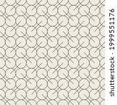 vector seamless pattern. modern ... | Shutterstock .eps vector #1999551176
