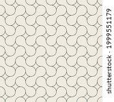 vector seamless pattern. modern ... | Shutterstock .eps vector #1999551179