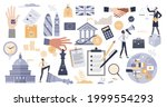politics with election and... | Shutterstock .eps vector #1999554293