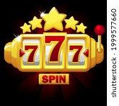 777 slots symbol  jackpot sign  ...