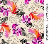 seamless  illustration pattern... | Shutterstock . vector #1999589516