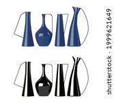 beautiful vase  modern ceramic...   Shutterstock .eps vector #1999621649