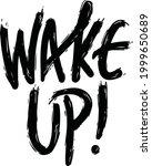 current millennial slang wake... | Shutterstock .eps vector #1999650689
