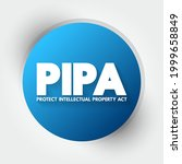 pipa   protect intellectual... | Shutterstock .eps vector #1999658849
