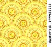 moroccan medallions mosaic... | Shutterstock .eps vector #1999685333
