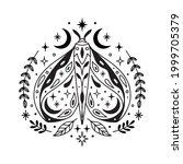vector abstract magic...   Shutterstock .eps vector #1999705379