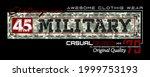 45 military challenge wear... | Shutterstock .eps vector #1999753193