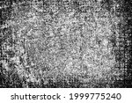 grunge texture. black and white ... | Shutterstock .eps vector #1999775240