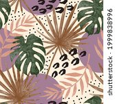 exotic tropical jungle seamless ...   Shutterstock .eps vector #1999838996