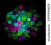 Colors Random Squares In Center ...