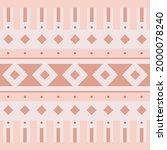 geometric boho desert seamless... | Shutterstock .eps vector #2000078240
