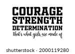 courage  strength ... | Shutterstock .eps vector #2000119280