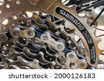 Mountain Bike Gears And Chains. ...