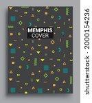 memphis design elements...   Shutterstock .eps vector #2000154236