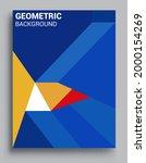 modern geometric abstract...   Shutterstock .eps vector #2000154269