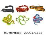 black mamba dendroaspis... | Shutterstock .eps vector #2000171873