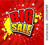 big sale vector illustrator eps ... | Shutterstock .eps vector #200028989