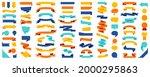 big set of vector colorful...   Shutterstock .eps vector #2000295863