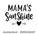 Mama's Sunshine Hand Written...