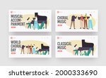 choral music landing page... | Shutterstock .eps vector #2000333690
