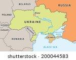 ukraine map after crimean...