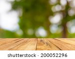 wooden floor and out of focus... | Shutterstock . vector #200052296