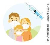 international vaccination...   Shutterstock .eps vector #2000541146