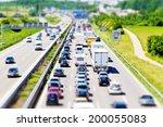 traffic jam on stuttgart... | Shutterstock . vector #200055083