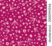 cute  doodled botany elements...   Shutterstock .eps vector #2000594546