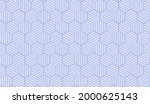 abstract geometric pattern with ... | Shutterstock .eps vector #2000625143