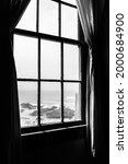 Old Rustic Light House Window...