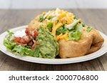 Enormous Chimichanga Burrito...